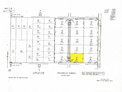 Lancaster Residential Lots & Land For Sale: 3 West , Ave. F-8