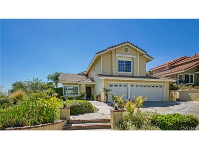 Canyon Country Single Family Home For Sale: 28035 Parkridge Lane