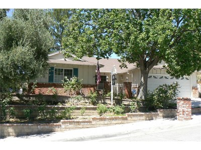 Los Angeles County Single Family Home For Sale: 23136 Frisca Drive