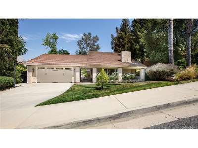 Calabasas CA Single Family Home For Sale: $1,595,000