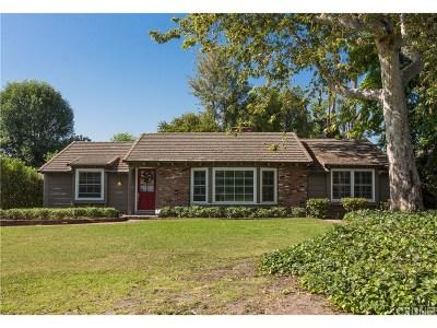 Arcadia Single Family Home For Sale: 1126 La Rosa Road