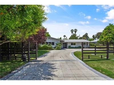 Encino Single Family Home For Sale: 4935 Gaviota Avenue