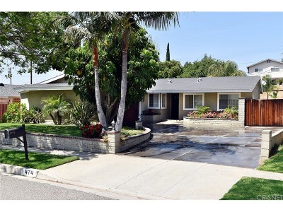 Simi Valley Single Family Home For Sale: 474 Talbert Avenue