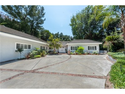 Encino Single Family Home For Sale: 4263 Mooncrest Place