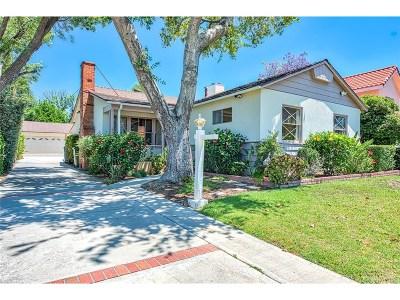 Northridge Single Family Home For Sale: 18221 Gresham Street