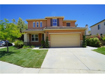 Saugus Single Family Home For Sale: 28342 Nield Court