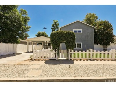 Canoga Park Single Family Home For Sale: 7642 Independence Avenue