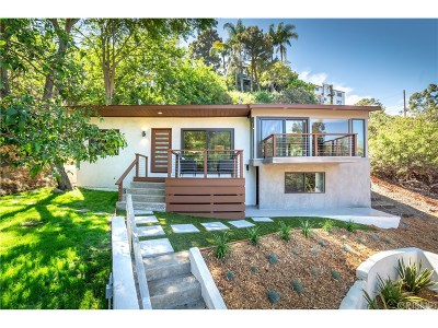 Single Family Home For Sale: 6917 Cahuenga Park