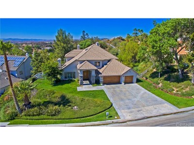 Canyon Country Single Family Home For Sale: 15531 Live Oak Springs Canyon Road