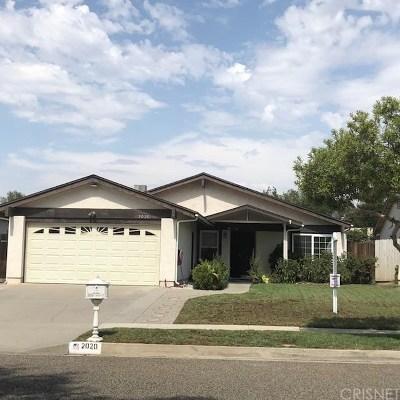Simi Valley Single Family Home For Sale: 2020 Goddard Avenue