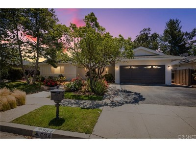 Thousand Oaks Single Family Home For Sale: 984 Calle Contento