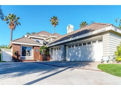 Valencia Single Family Home For Sale: 25906 Bellis Drive