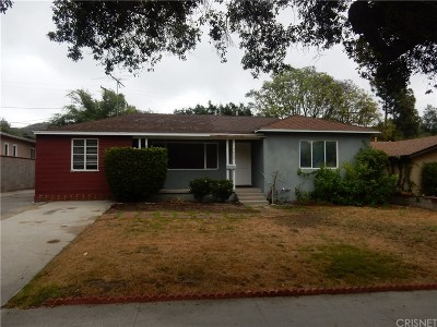 Glendale Single Family Home For Sale: 3060 North Verdugo Road