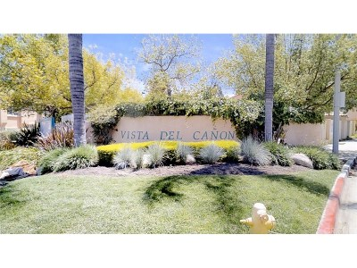 Newhall Condo/Townhouse For Sale: 18836 Vista Del Canon #F