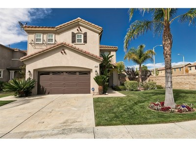 Saugus Single Family Home For Sale: 19903 Holly Drive