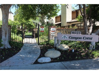 Canyon Country Condo/Townhouse For Sale: 18223 Soledad Canyon Road #56