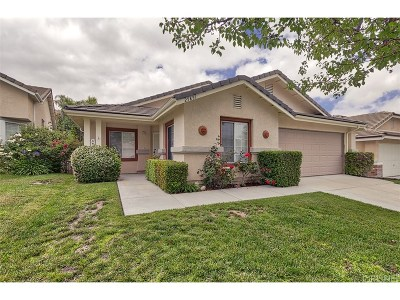 Stevenson Ranch Single Family Home For Sale: 25851 Webster Place