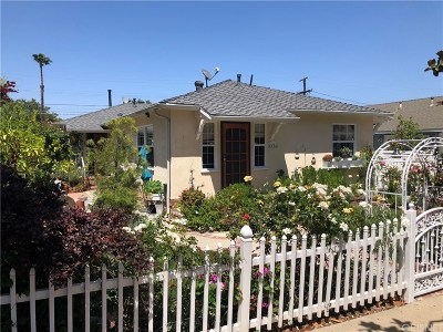 Culver City Single Family Home For Sale: 4134 Center Street #A & B