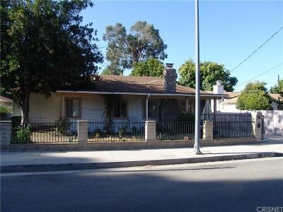 Woodland Hills Single Family Home For Sale: 22647 Burbank Boulevard