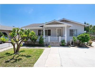 Pasadena Single Family Home For Sale: 2156 Corson Street