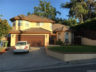 Woodland Hills Single Family Home For Sale: 22938 Avenue San Luis