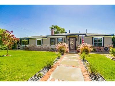 Toluca Lake Single Family Home For Sale: 5138 Auckland Avenue