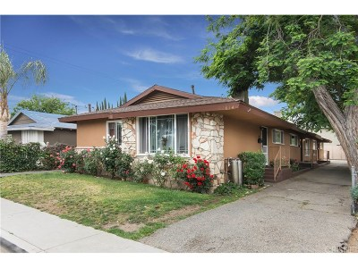 Newhall Single Family Home For Sale: 22834 15th Street