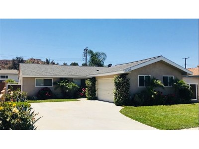 Saugus Single Family Home For Sale: 22308 Paraguay Drive