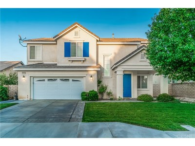 Lancaster CA Single Family Home Sold: $395,000