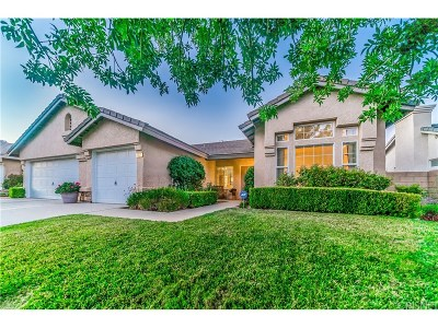 Palmdale CA Single Family Home For Sale: $410,000