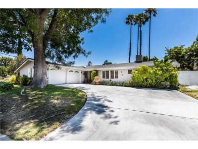 Woodland Hills Single Family Home For Sale: 5814 McDonie Avenue