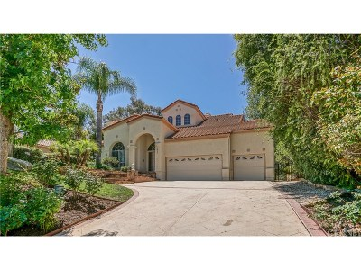 Agoura Hills Single Family Home Sold: 5523 Foothill Drive