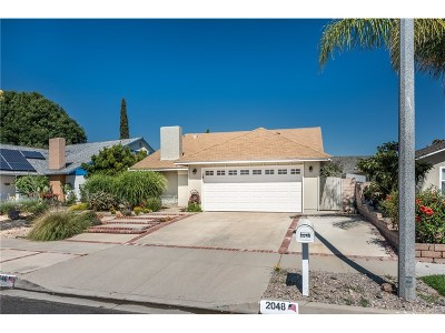 Simi Valley Single Family Home For Sale: 2048 Tracy Avenue