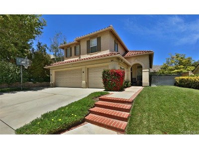 Thousand Oaks Single Family Home For Sale: 2814 Irongate Place
