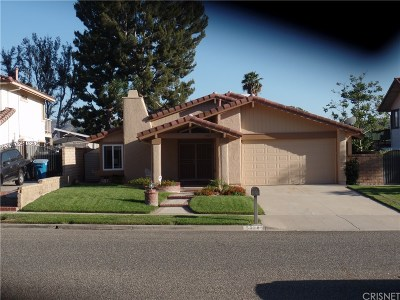 Simi Valley Single Family Home For Sale: 5328 Mohave Drive