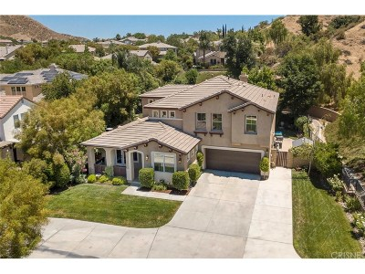Saugus Single Family Home For Sale: 22136 Crestline