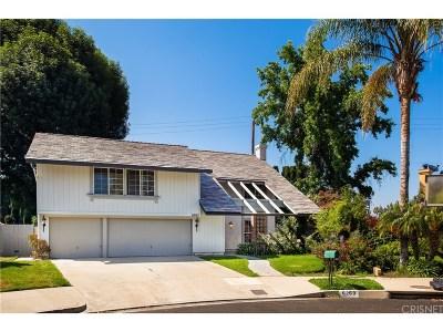 Woodland Hills Single Family Home For Sale: 6263 McLaren Avenue