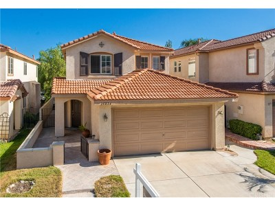 Stevenson Ranch Single Family Home For Sale: 25824 Hammet Circle