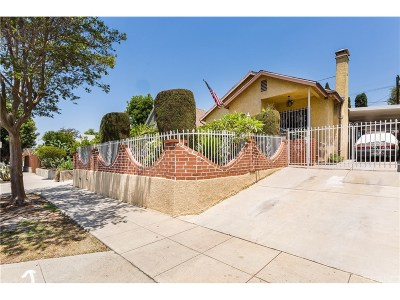 Los Angeles CA Single Family Home For Sale: $950,000