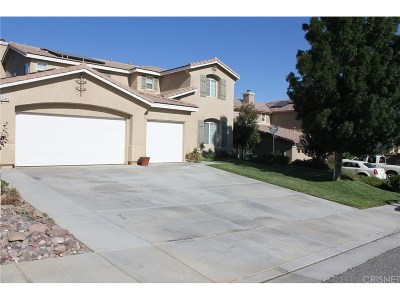 Palmdale Single Family Home For Sale: 37425 Mimosa Way