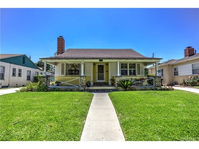 Burbank CA Single Family Home Sold: $835,000