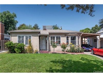 Burbank Single Family Home For Sale: 1111 North Orchard Drive
