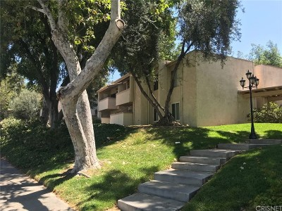 Agoura Hills Condo/Townhouse For Sale: 5800 Kanan Road #264