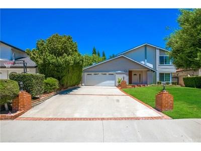 Los Angeles County Single Family Home For Sale: 23731 Adamsboro Drive