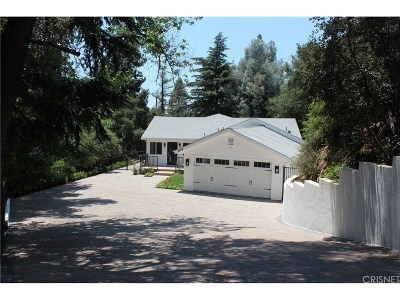 La Canada Flintridge Single Family Home For Sale: 1304 Journeys End Drive