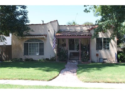 North Hollywood Single Family Home For Sale: 10903 Otsego Street