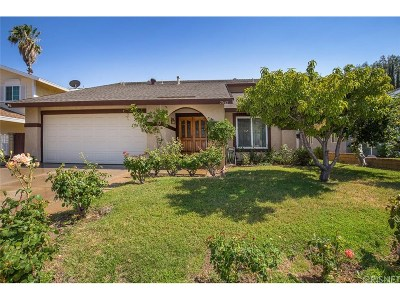 Saugus Single Family Home For Sale: 21642 Masterson Court
