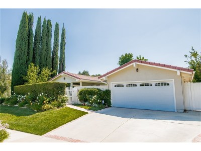 Calabasas Single Family Home Sold: 3827 Declaration Avenue