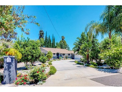 Woodland Hills Single Family Home For Sale: 23333 Leonora Drive