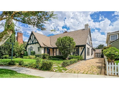 Toluca Lake Single Family Home For Sale: 4322 Ponca Avenue